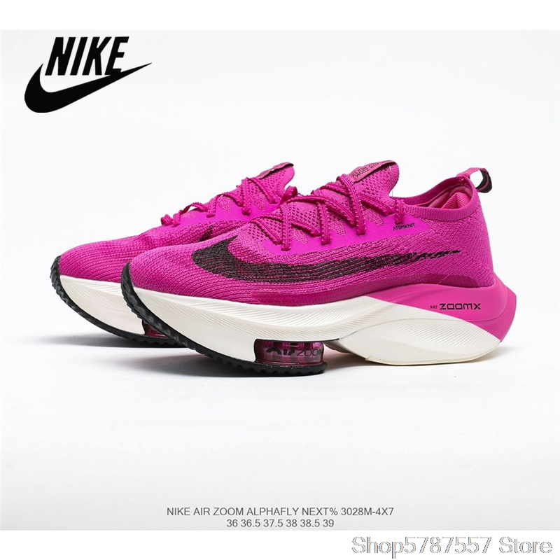 Original Nike Air Zoom Alphafly NEXT air cushion uses lighter and more breathable Atomknit <font><b>material</b></font> Women's <font><b>shoes</b></font> 36-40 shipping image