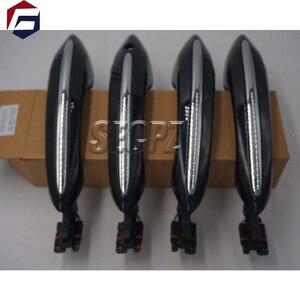 Image 2 - Colore nero con la comodità di accesso maniglia della porta per BMW 5 serie F11 520d 520i 523i 525d 528i 530d 51217231931 51217231932 51217231