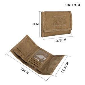 Image 2 - 優れたエリートspanker財布カードバッグ戦術的な防水財布idホルダーマネーバッグ男性のポーチ屋外財布軍事