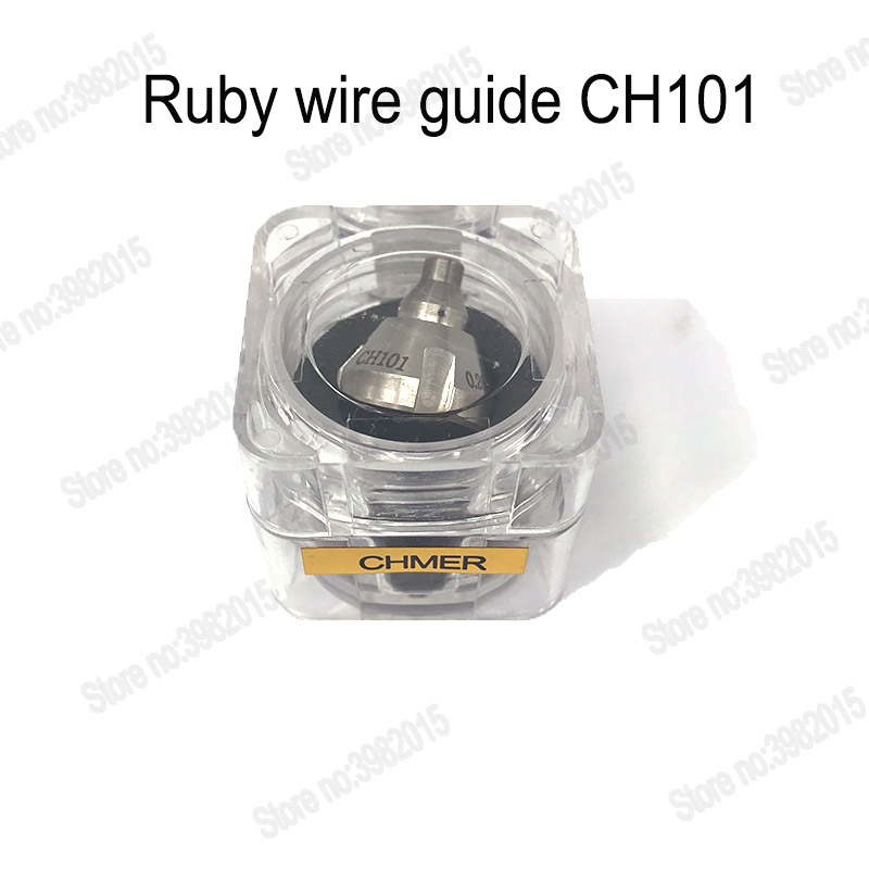 Ruby Wire Guide CH101 Upper & Lower Size For CHMER Machine Parts