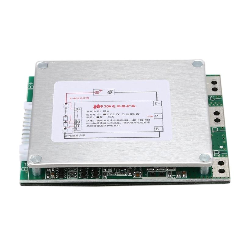 10S 36V 20A Li-Ion Lipolymer Battery Protection Board BMS PCB Board For E-Bike EScooter
