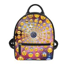 Bagpack Casual Anti Theft Backpack for ladies travel backpack Custom patterns Women's luxury backpacks Funny face