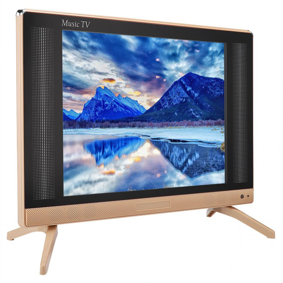 Lcd-Tv Television Portable 19inch Hdmi Vga NTSC SECAM With Bass-Sound Vga/110-240v/New