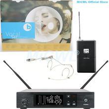 Цифровой беспроводной микрофон glx uhf для караоке сцены дома