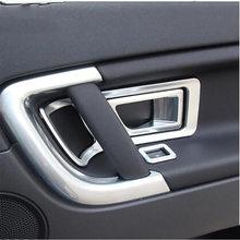 Внутренняя дверная ручка Автомобильная крышка рамка abs Хромированная