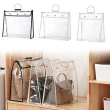 Travel accessories PVC portable transparent seal dustproof fashion folding unisex multifunctional portable storage bag