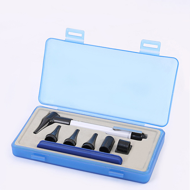 Otoscope Ophthalmoscope Medical Ent Ear Care Examination Diagnostic Instruments Otoscope Diagnostic Kit Health Care Tool 1