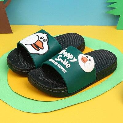 Kids Summer Slipper Vertical Dragon War House Slippers Shower Slide Anti-Slip Beach Pool Bath Sandals for Boys Girls