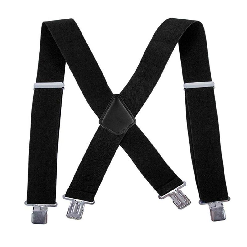 Y Shape Adult Suspender High-quality Durable Creative Personality Strap Clip-on For Men Pants Trousers Braces Elastic Belt