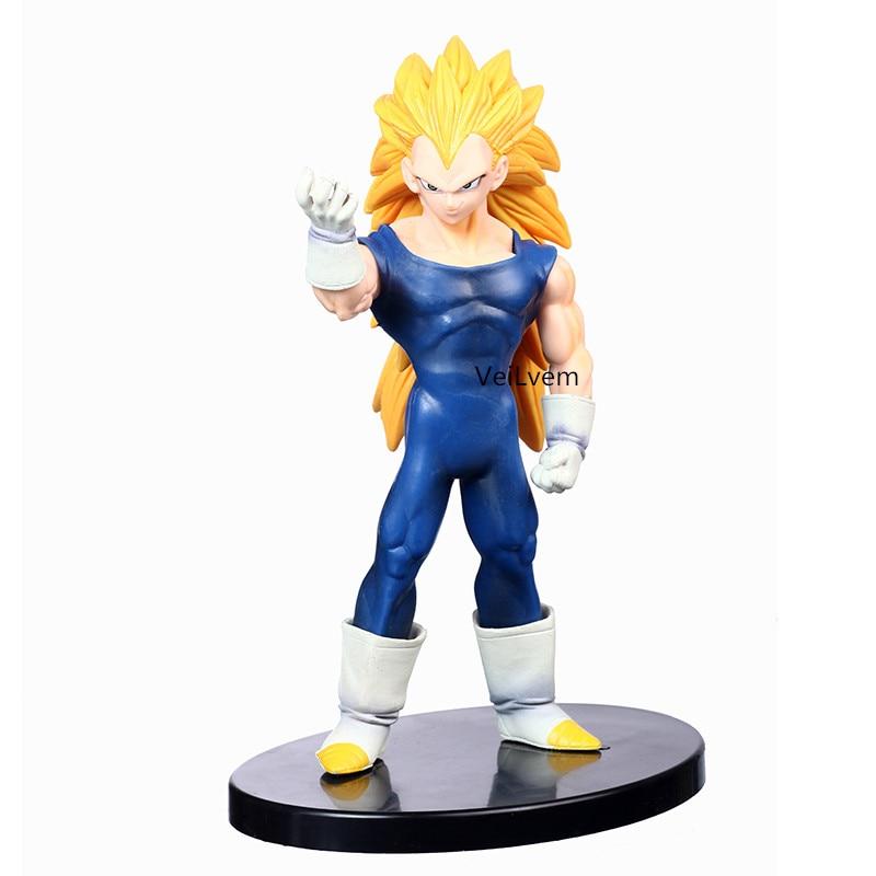 16cm Japan Anime Dragon Ball Z Super Saiyan Vegeta PVC Action Figures Toy Collection Model Toys Juguetes Dragonball Figures