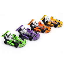 1pc Hot Sale Mini Car Children Racing Car Cartoon Pull Back Kart Toys for Children Formula Car Inertia Trolley 4 pcs alloy pull back car toys car children racing car baby mini cars cartoon pull back bus truck kids toys for children boy gif