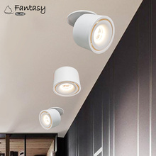 LED Recessed Ceiling downlights 5W 7W Lamp Indoor Lighting Foldable and 360 degree rotatable COB lights