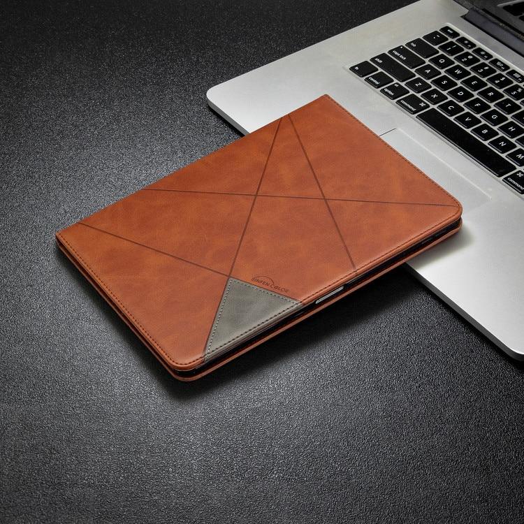 2 White New Card Wallet Flip Tablet Case for iPad Pro 11 2020 2th Gen Case Geometric Figure