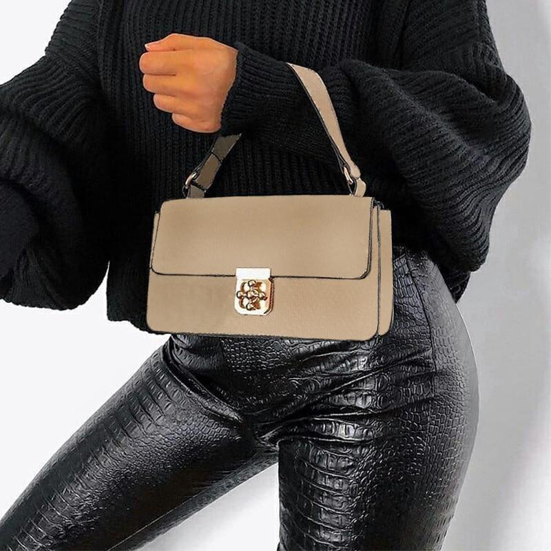 InstaHot Black High Waist Pencil Faux Leather Pants Women Casual Elegant Carving Print Ankle Length Pants Streetwear Trousers 31