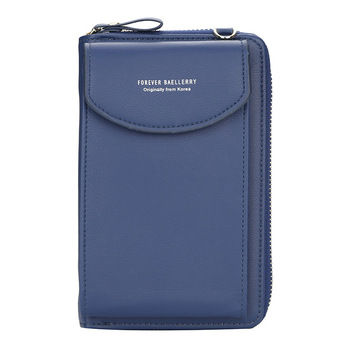 wallet women Diagonal PU multifunctional mobile phone clutch bag Ladies purse large capacity travel card holder passport cover 8