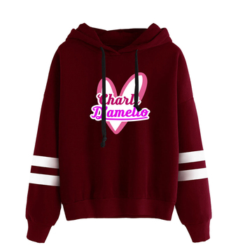 charli damelio merch Sweatshirt Men/Women Print Ice Coffee Splatter Hoodies Fashion Hip Hop hoodie Pullovers Tracksuit Clothes 11