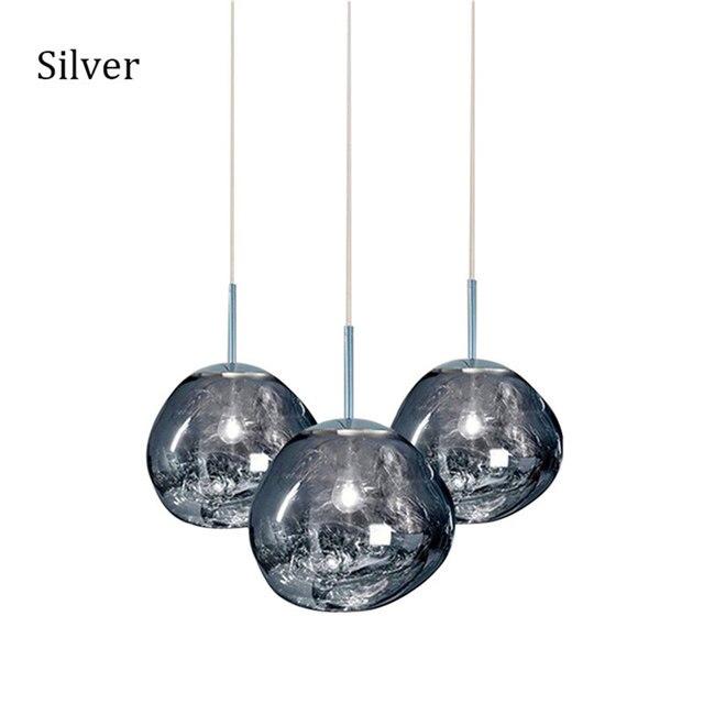 Nordic Glass LED Pendant Lights