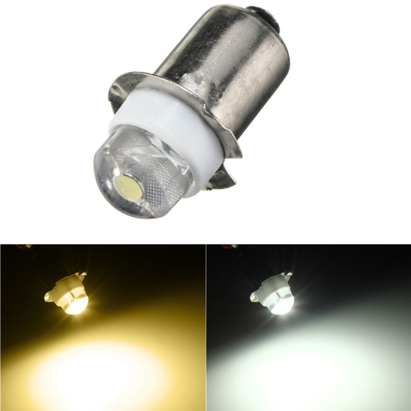LED Light Bulb DC3V 6V P13.5S PR2 0.5W LED Warm White for Flashlight Replacement Bulb Torches Work Light Lamp 60-100Lumen image