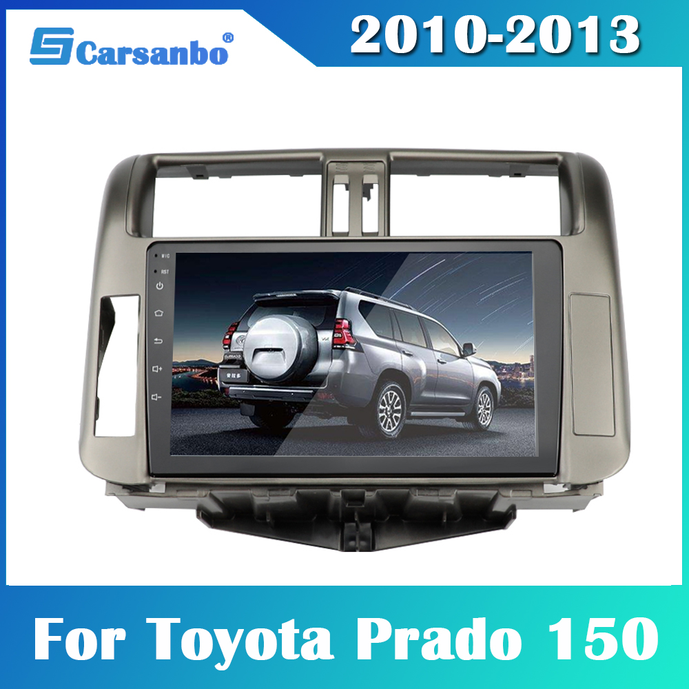 2din Android 9.0 <font><b>Car</b></font> <font><b>Radio</b></font> GPS 2G 32G <font><b>Car</b></font> Multimedia Player <font><b>for</b></font> <font><b>Toyota</b></font> <font><b>Prado</b></font> <font><b>150</b></font> <font><b>2010</b></font>-2013 Navigation GPS <font><b>2</b></font> <font><b>Din</b></font> <font><b>Radio</b></font> no dvd image