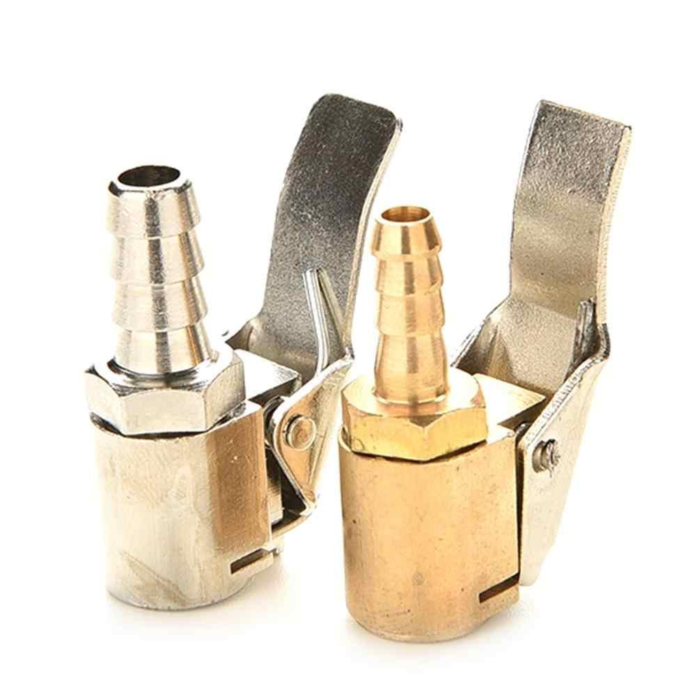 6/8mm rueda de coche inflador bomba válvulas Clip en manguera de aire abrazadera conector accesorios de coche piezas profesionales de repuesto