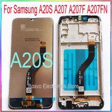 Dành Cho Samsung A20S Màn Hình LCD A207 A207F A207F/DS A207FN A207U A207W A207G/DS Có Cảm Ứng Với khung Lắp Ráp