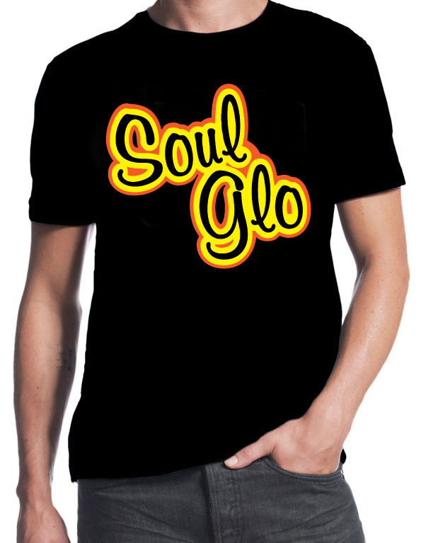 Coming To America Soul Glo Funny 80's Comedy Movie Eddie Murphy Black T-Shirt 100% Cotton Short Sleeve Summer T Shirt image