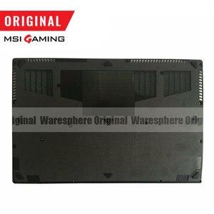Image 5 - Yeni orijinal MSI GS63 GS63VR LCD arka kapak çerçeve Palmrest alt baz kılıf 3076K3D211 3076K3D212 3076K2A215 3076K1B213