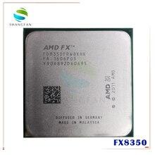 AMD FX 시리즈 FX 8350 FX8350 4.0G 125W FX 8350 FD8350FRW8KHK 8 코어 소켓 AM3 +