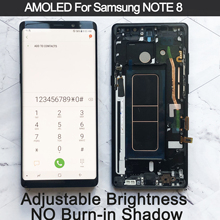 """6.3"""" Original AMOLED Display For SAMSUNG Galaxy NOTE 8 LCD N950 N950F N950N Display For Note8 Touch Screen Replacement Parts"""