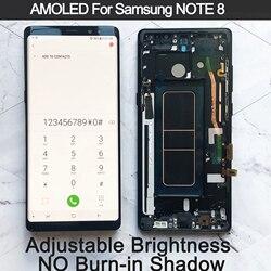 """6.3 """"oryginalny wyświetlacz amoled do SAMSUNG Galaxy NOTE 8 LCD N950 N950F N950N wyświetlacz do Note8 wymiana ekranu dotykowego części w Ekrany LCD do tel. komórkowych od Telefony komórkowe i telekomunikacja na"""