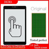 """New For 7"""" DIGMA CITI Octa 70 CS7217PL Tablet Touch Screen Digitizer Sensor Panel Glass Parts