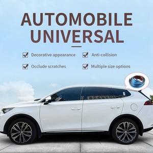 Image 4 - Chrome סטיילינג יציקת Trim רצועת רכב דלת מגן רצועות אוטומטי חלון מראה פגוש נגד התנגשות רכב גוף דקורטיבי Trim