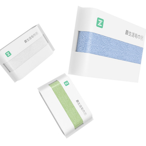 Image 3 - New XIAOMI MIJIA ZSH Square Towel Youth Series 100% cotton strong water absorbent antibacterial baby adult face Wash