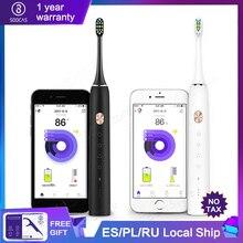 Cepillo de dientes eléctrico sónico Soocas X3 actualizado para adultos impermeable Ultra sónico automático cepillo de dientes USB recargable para Xiaomi