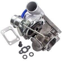 GT2871 turbolader de turbina Universal, 400HP, A/R 0,6 240SX S13 S14 SR20 CA18DET para motor de 1,8l 3,0l A/R .64