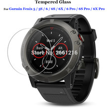 3Pcs/lot Protector Film For Garmin Fenix 5 5S 6 6X 6S Pro Tempered Glass Premium Screen For Garmin Fenix5 / Fenix5s Smart Watch
