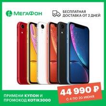 Смартфон Apple iPhone XR 128GB [Ростест, новый, не восстановленный, SIM любых операторов, официальная гарантия]