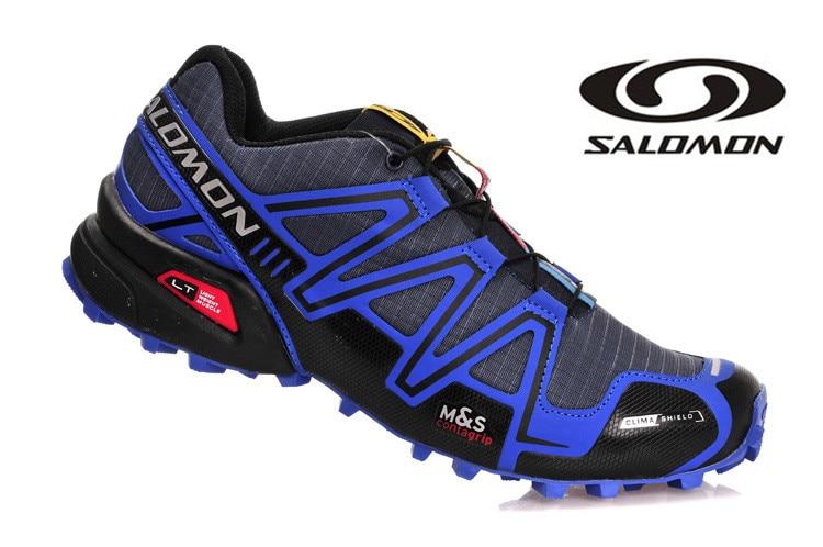 Salomon Speed Cross 3 CS III Trail Shoes Breathable Run Men Shoes Light Atheltic Shoes SpeedCross 3 Mens Fencing Shoes Eur 40-45