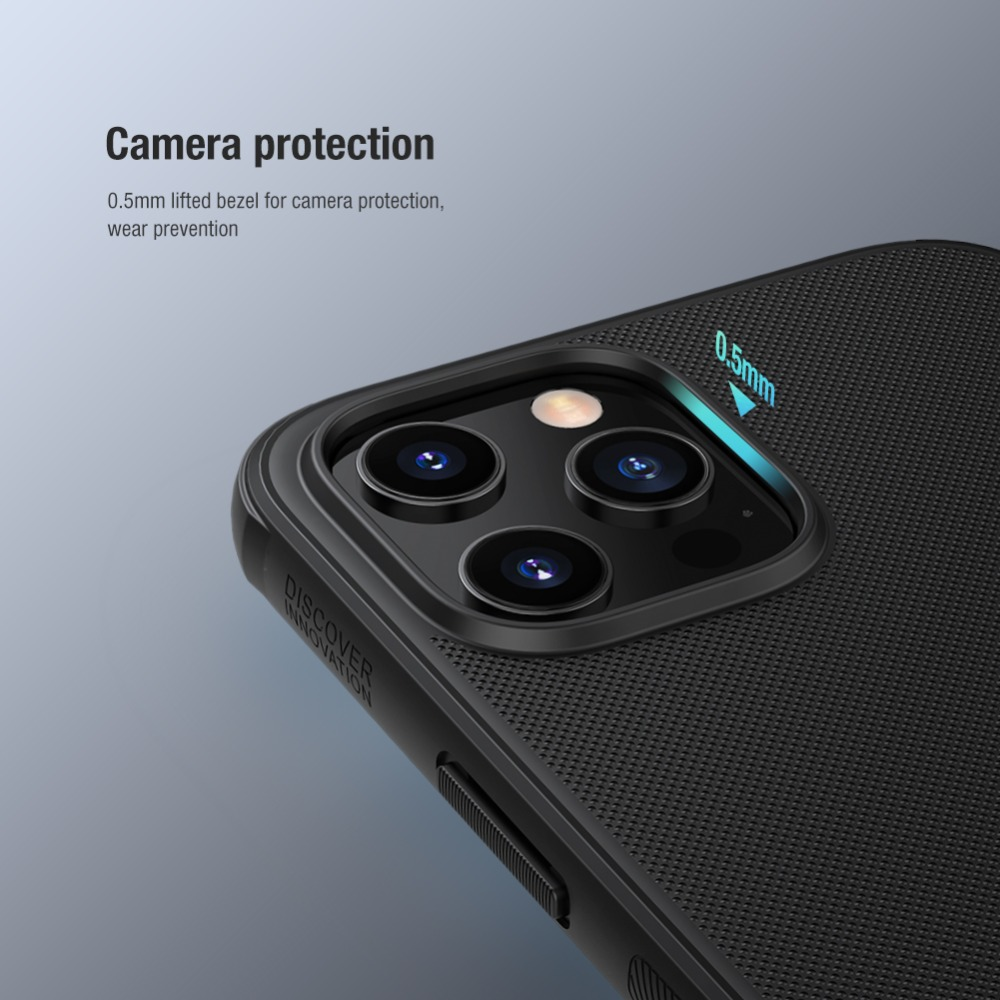 Frosted Shield Slide Cover Camera Protector Case For iPhone12 Pro