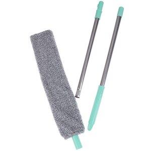 Прикроватная щетка для пыли швабра с длинной ручкой стреловидная артефакт Бытовая кровать чистая зазор Нижняя съемная ручка|Пыльная тряпка|   | АлиЭкспресс