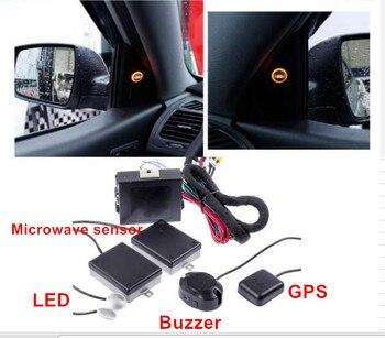 Car Blind Spot Mirror Radar GPS Detection System BSM Microwave Flow Blind Spot Monitoring Lane Departure Warning for car 12 v