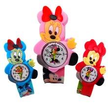 Fashion Girls Watches Kids Wristband Gift Pink Cartoon Micke