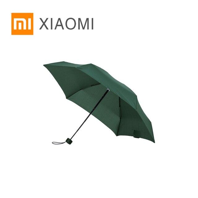 Paraguas soleado XIAOMI MIJIA paraguas Umbrella ultracorto plegable portátil para mujeres sombrilla de protección solar impermeable a prueba de viento UV playa parasol