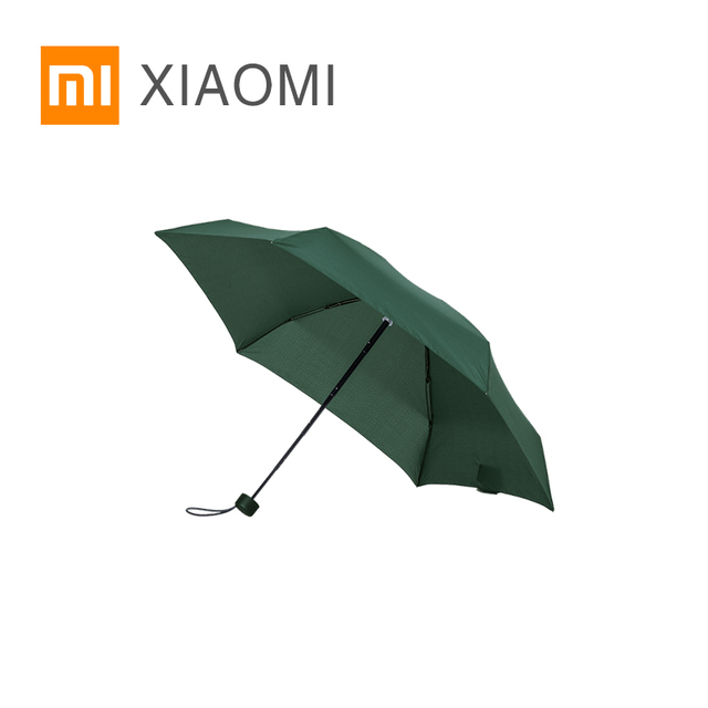 XIAOMI MIJIA Sunny Umbrella Umbracella ultrashort folding portable women umbrella Sunscreen Rainproof Windproof UV beach parasol
