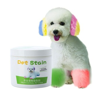 NEW Performance Hair Dye Gel for Dogs professional pet hair cream hair color non-toxic DIY dyeing wax 3.51oz/100ml DROP SHIP immetee new product hair color wax for men