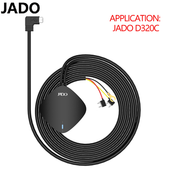JADO Driving RecorderDedicated Power Cord Insurance Box Buck Line 12V To 5V/1A XPOWER car aux Monitoring line usb Port Navigat