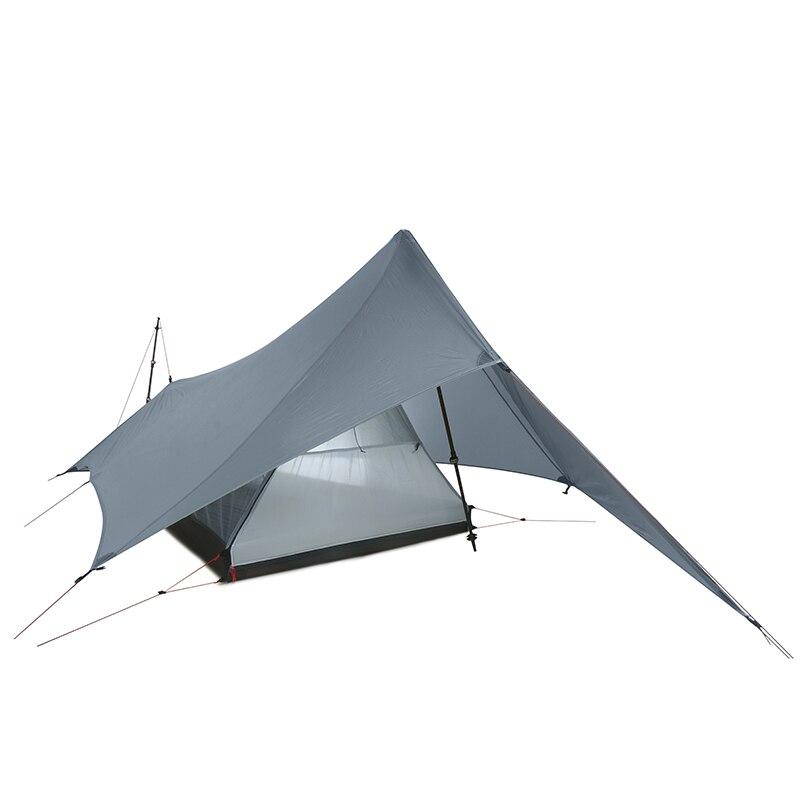 FLAME'S CREED XUNSHANG 20D silnylon 1 человек Открытый Сверхлегкий Палатка 3 сезона дождь муха тент брезент