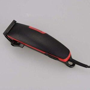 Image 4 - בית שקט שיער קליפר Wired Drimmer Kemei Haricutting מכונה חשמלי תספורת מכשיר גברים פתול גוזם Trimer גילוח מכונת גילוח