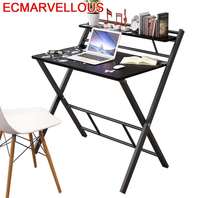 Office Tisch Bed Tafel Mesa Dobravel Escritorio De Oficina Small Adjustable Bedside Tablo Laptop Stand Study Table Computer Desk
