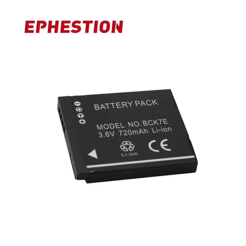 EPHESTION DMW-BCK7E BCK7E BCK7 NCA-YN101 Camera Battery For Panasonic DMC FH2 FH5 FH25 FH27 TS25 S3 FH8 SZ1 FH6 S1 S3 FP5 FH8